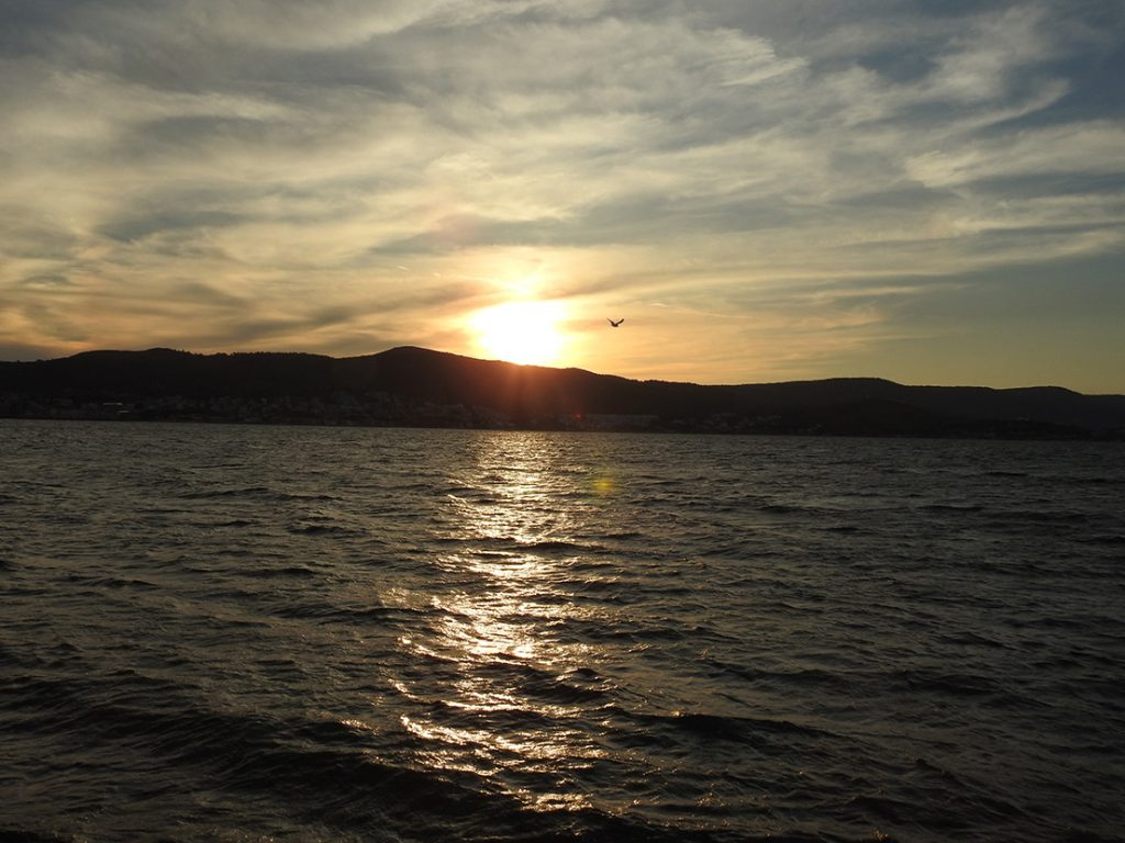 Karantina Adası Gün Batımı