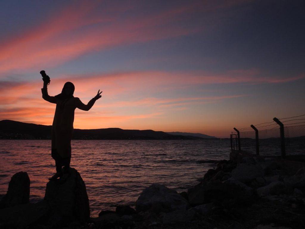 Karantina Adasında Günbatımı www.cekergezer.com Hakan Aydın