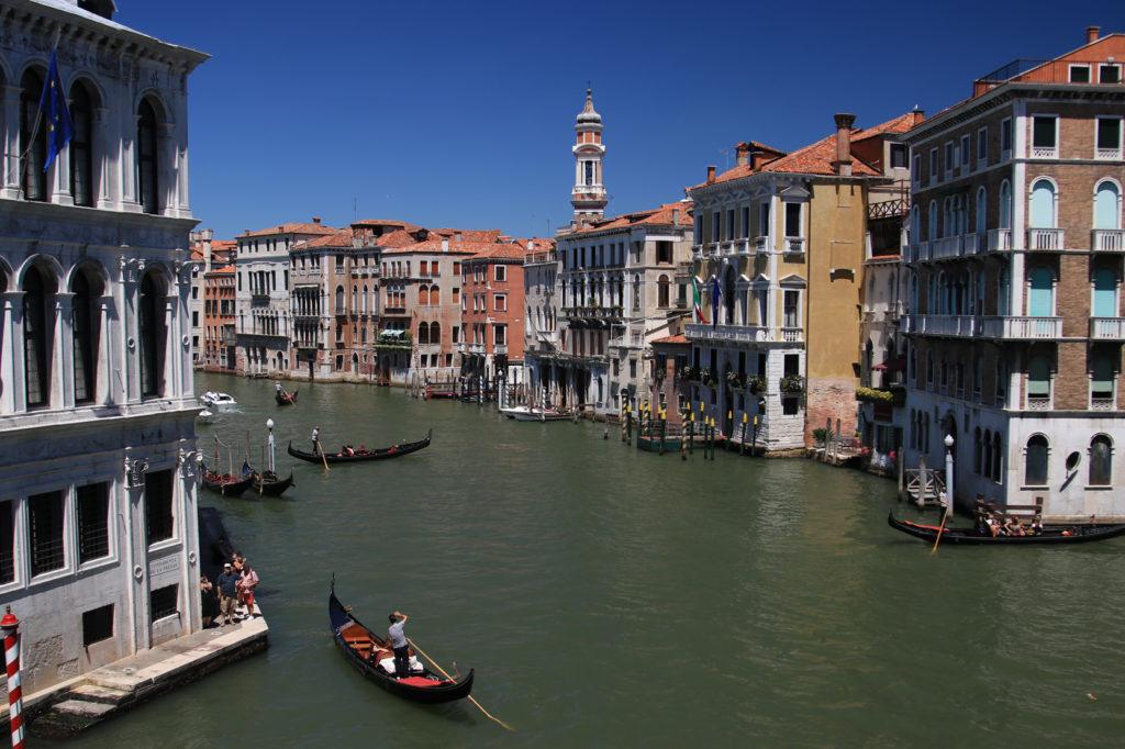Venedik Kanallar Gondol Mega Italya