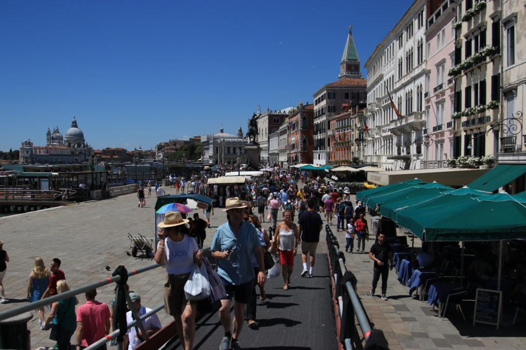 Venedik Sokaklarından Görünüm Mega Italya