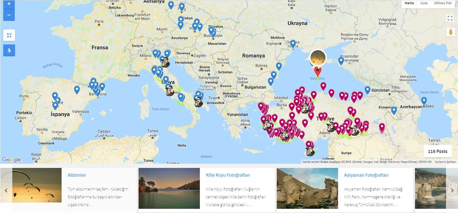 Çekergezer Hakan Aydın Blog ve gezi yazıları haritası www.cekergezer.com www.cekergezer.com