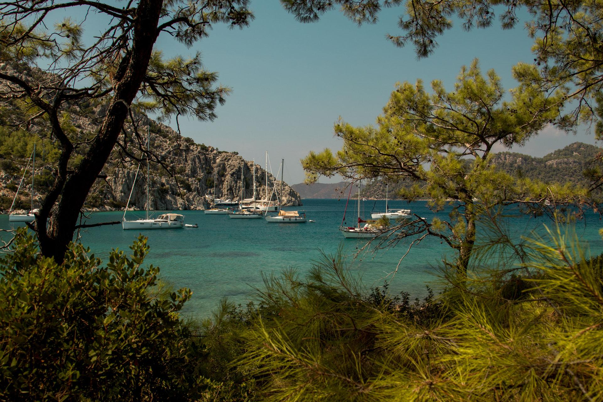 Cennet Koyu Fotoğrafları Selimiye Marmaris Muğla Çekergezer Hakan Aydın Fotoğrafları Gezgin Fotoğrafçı www.cekergezer.com www.cekergezer.com
