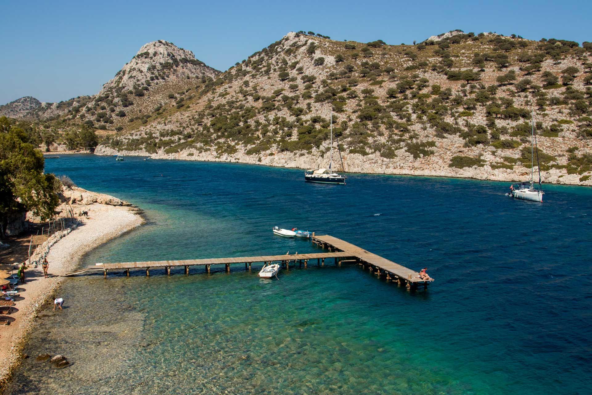 Serçe Limanı Fotoğrafları Taşlıca Marmaris Muğla Türkiye Çekergezer Hakan Aydın Gezgin Fotoğrafçı