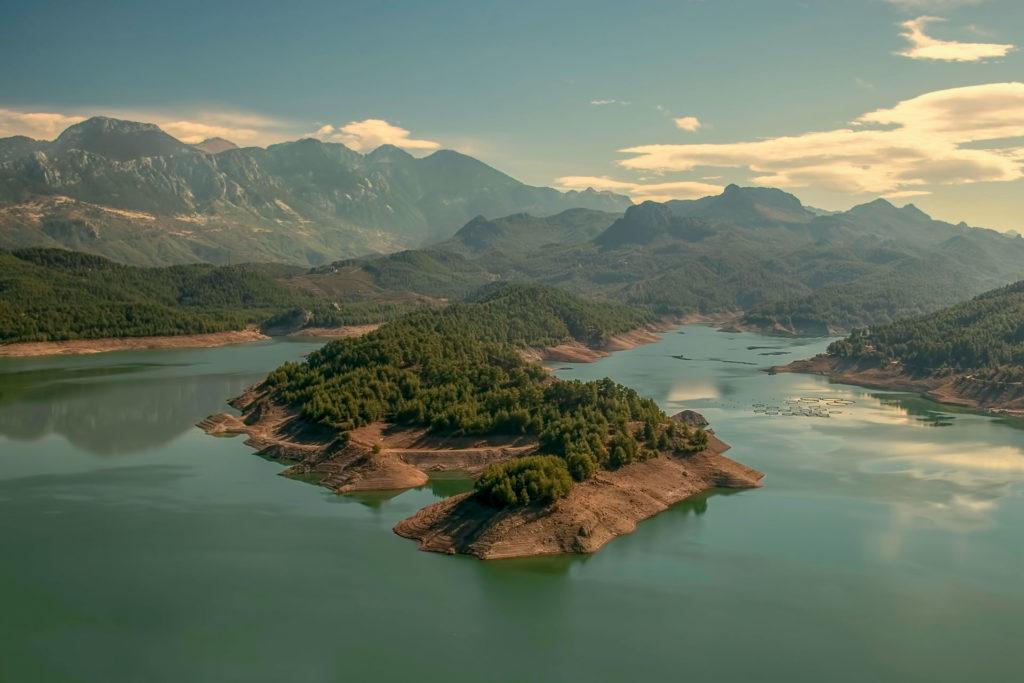 Karacaören Barajı Burdur Çekergezer Hakan Aydın Fotoğrafları Gezgin Fotoğrafçı www.cekergezer.com