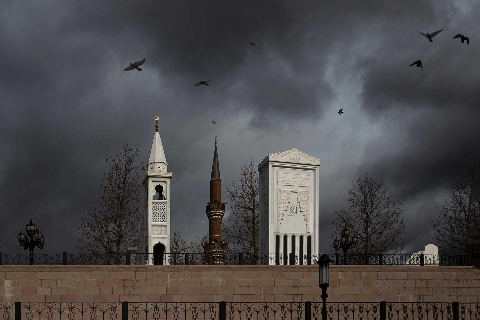 Hacı Bayram Camii Ankara Fotoğrafları Ankara Sokaklarından Resimler Gezgin Fotoğrafçı Çekergezer Hakan Aydın Ankara Fotoğraflar
