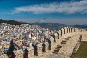 Kavala Kalesi Çekergezer Hakan Aydın Fotoğrafları Kavala Gezi Rehberi Yunanistan Gezilecek Yerler Yunanistan Turları Kavala Castle
