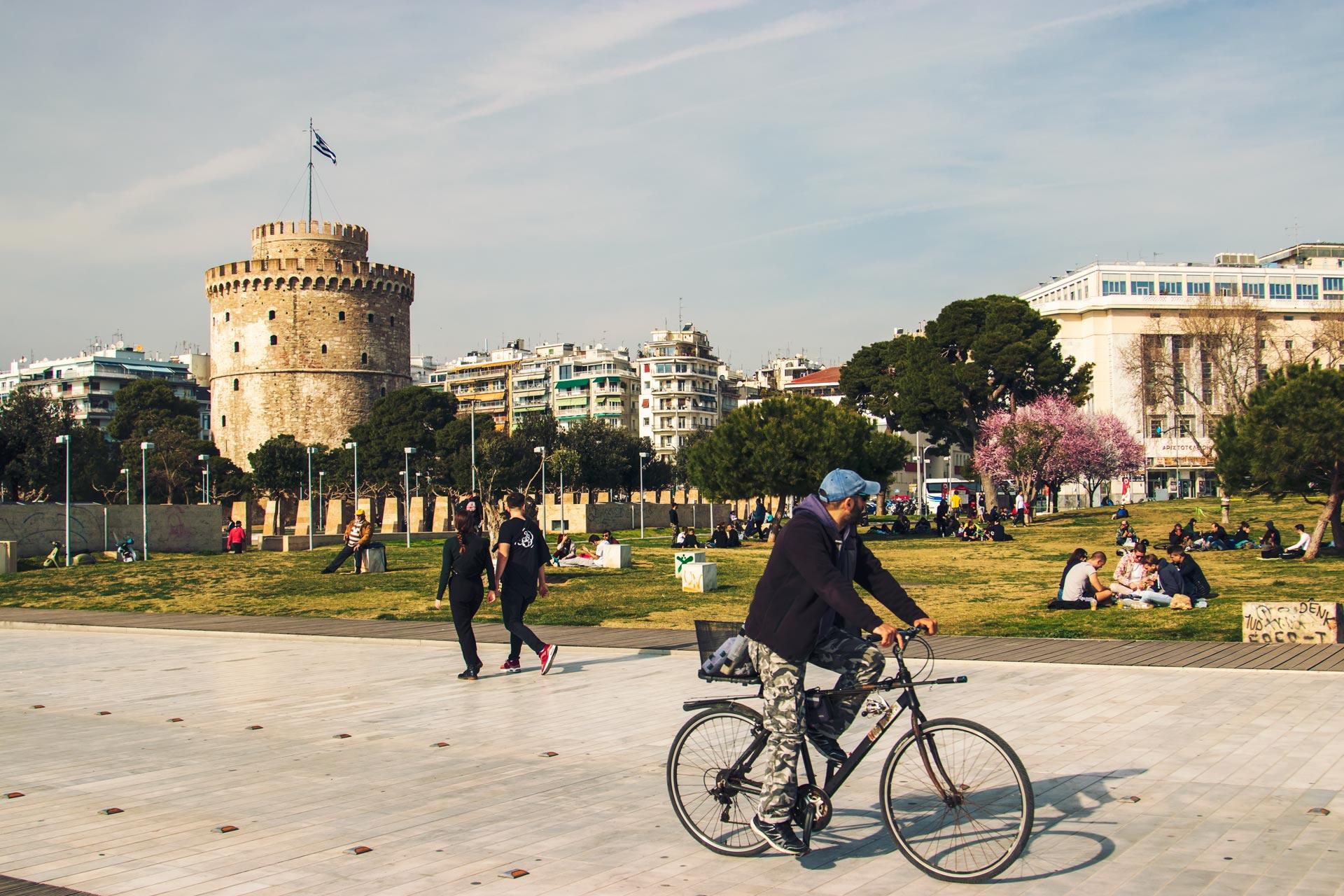 Selanik Beyaz Kule Yunanistan Gezi Rehberi Selanik Gezilecek Yerler Çekergezer Hakan Aydın Fotoğrafları