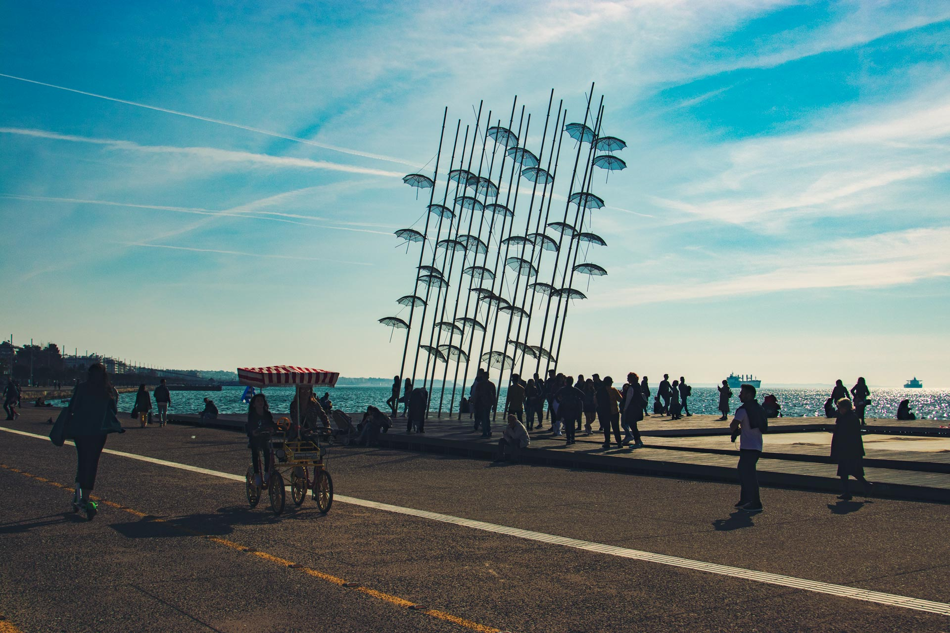 Selanik Şemsiyeleri Yunanistan Gezi Rehberi Selanik Gezilecek Yerler Çekergezer Hakan Aydın Fotoğrafları