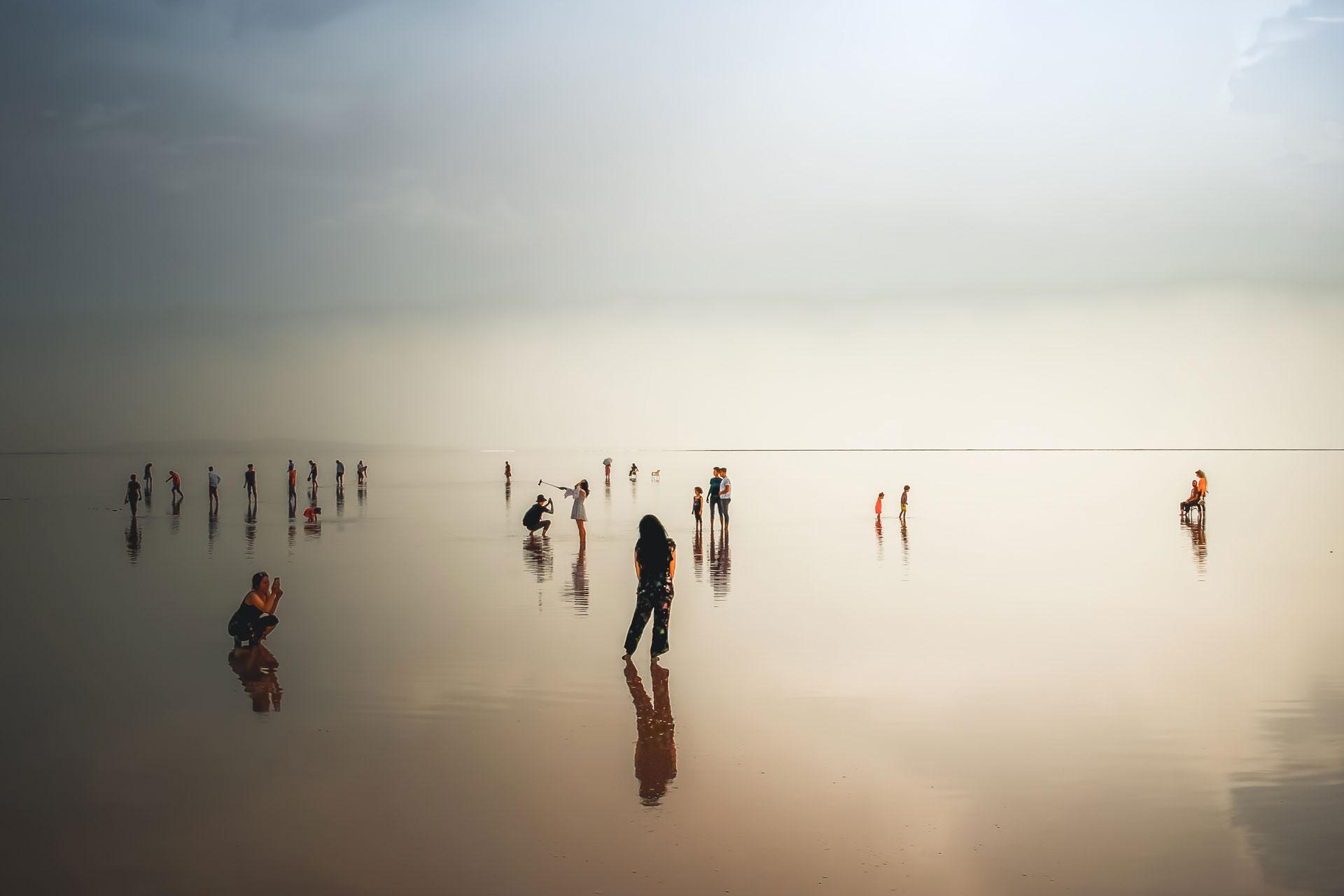 Tuz Gölü Fotoğrafları Tuz gölü resimleri Sunset Gün batımı genel görünüm Çekergezer Hakan Aydın Fotoğrafları Tuz Gölü görselleri