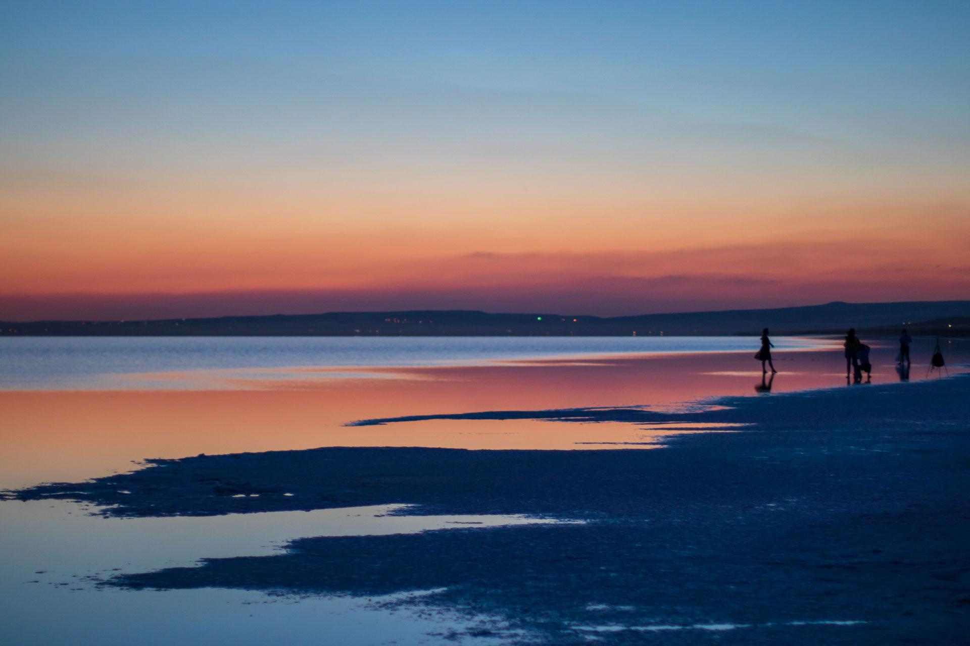 Tuz Gölü Fotoğrafları Tuz gölü resimleri Sunset Gün batımı Çekergezer Hakan Aydın Fotoğrafları Tuz Gölü