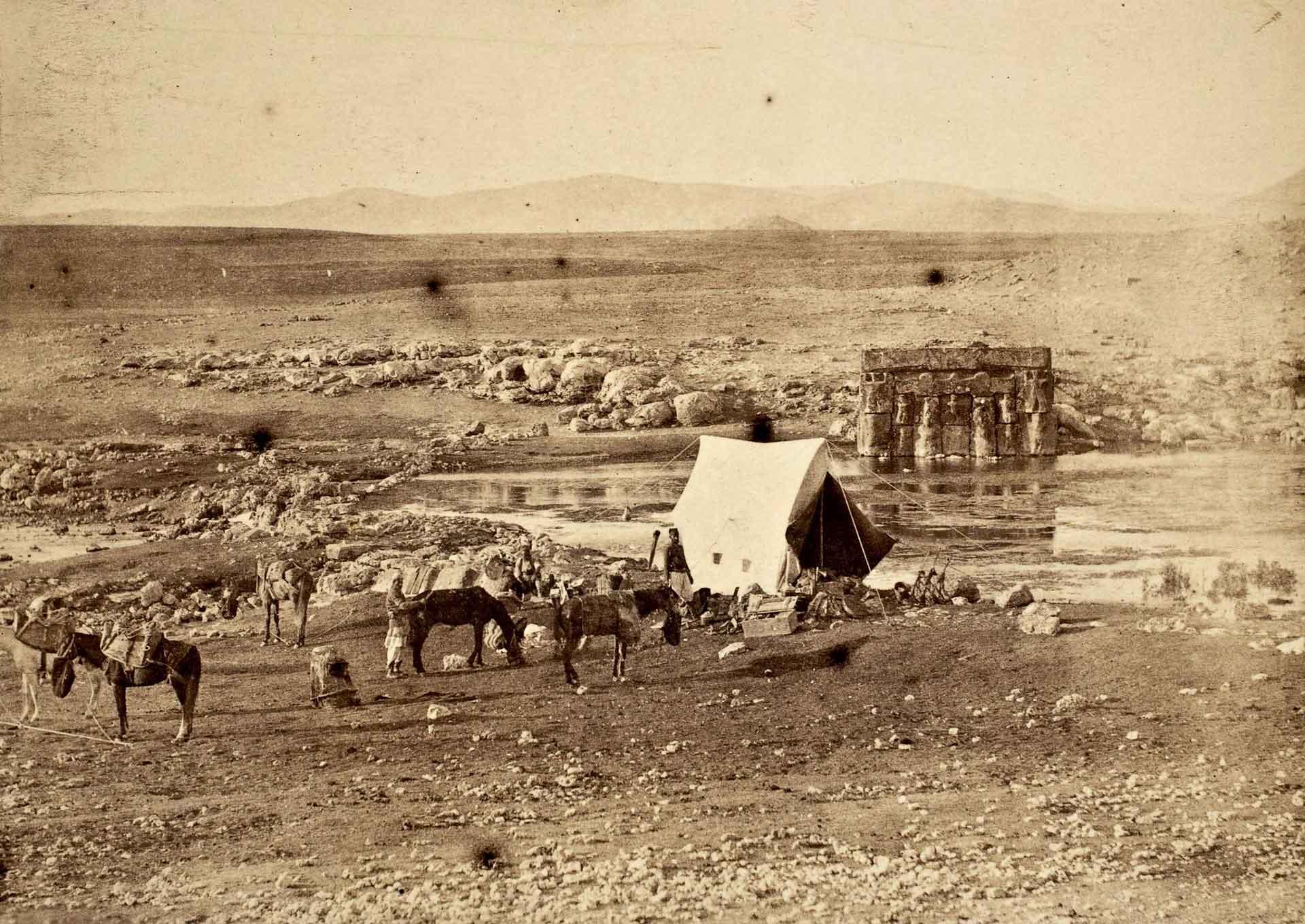 John Henry Haynes Eflatunpınar Fotoğrafı 1887